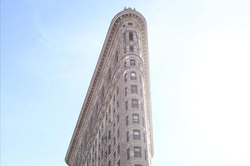Das Flatiron-Building in New York