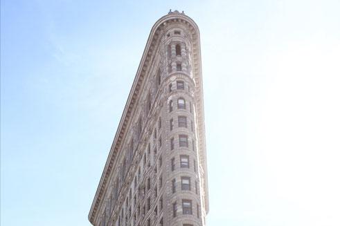 Das Flatiron-Building in New York