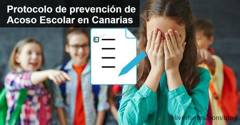 PROTOCOLO DE PREVENCION DE ACOSO ESCOLAR EN CANARIAS