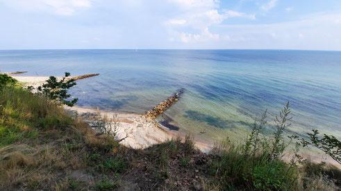 Die Ostsee auf dem Weg nach Grömitz