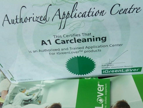 Applicatiecenter voor IGL Glasscoating | A1 Car Cleaning