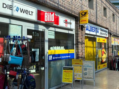 Post-Filialpartner Alberta in Bremen Kattenturm - Unzufriedenheit mit dem neuen Postdienstleister