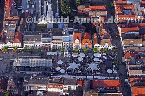 Das Auricher Weinfest 2016 auf dem Marktplatz