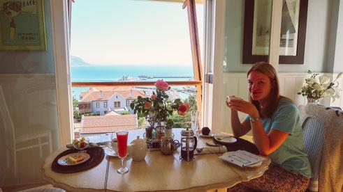 "Besonders leckeres Frühstück im ""A Boat House"" in Simon's Town"