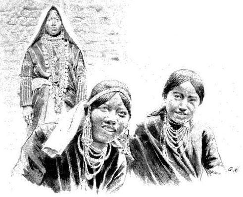 Femmes chokas