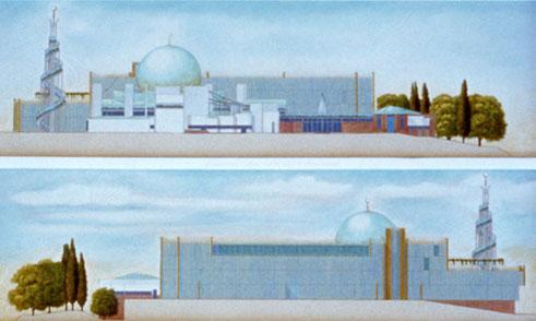La Grande Moschea di Strasburgo  ------- Paolo Portoghesi  Architetto  2000