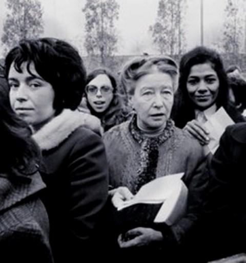 """""""En velopdragen ung piges erindringer"""" , af Simone de Beauvoir"""