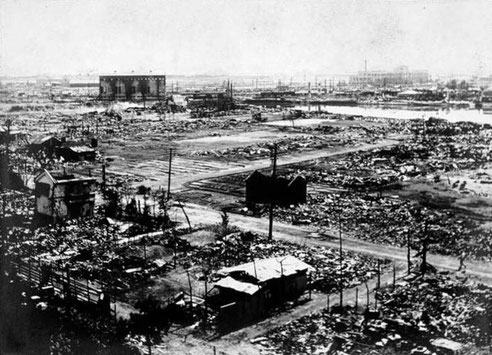 Tokyo : Séisme de 1923 de Kantō.