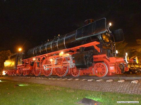 Denkmal-Lokomotive 01 1063 zeigt sich im Jahr 2013 wieder in einem imposanten, beeindruckenden Glanz