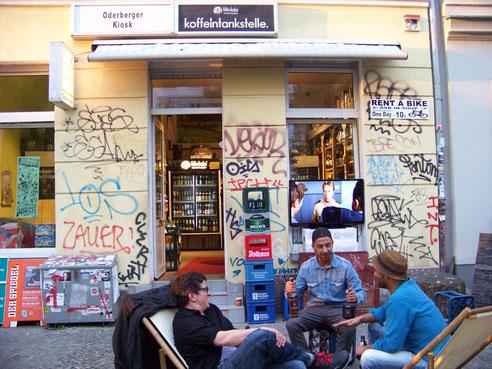 Spätkauf in der Oderberger Straße | © Katja Hanke 2014
