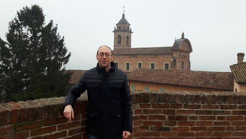 Der Gemeindepräsident von Castelnuovo calcea