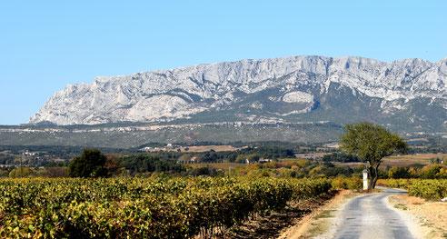 Montagne de la Sainte victoire (Provence)