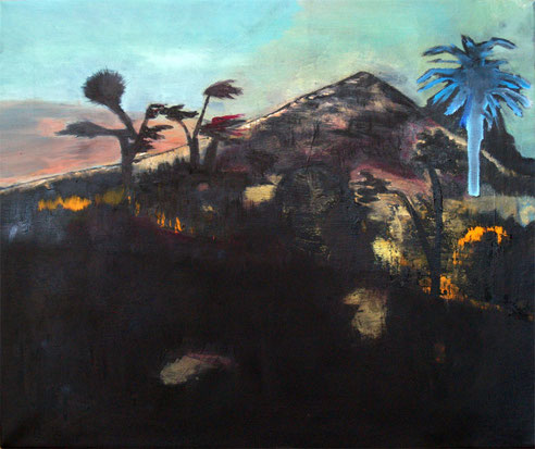 landscape one,  oil on canvas, 60 x 50 cm