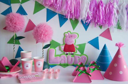 kit-cumpleaños-peppa pig