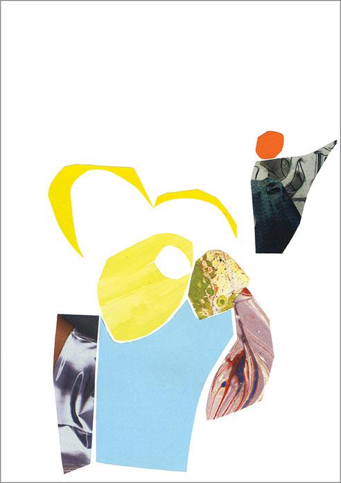 Ohne Titel, 2013, Scherenschnitt, 2013, 29,7 x 21 cm