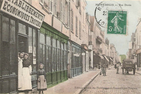 Rue Dorée 1910