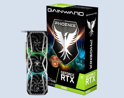 Gainwardが発表しているRTX30シリーズ