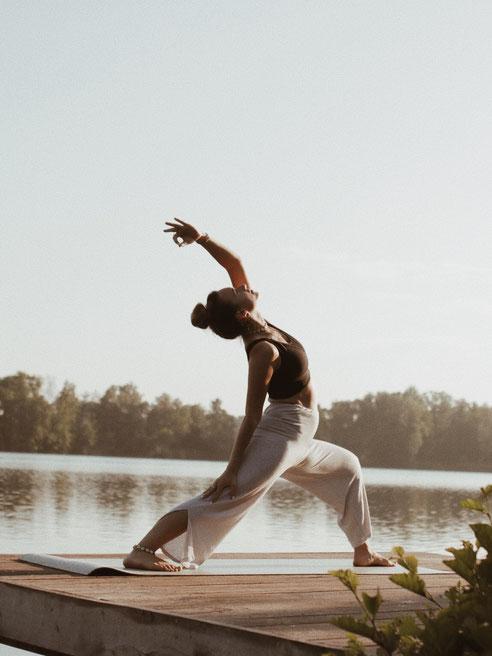 Yoga ist wichtig für das ganzheitliche Körpergefühl.