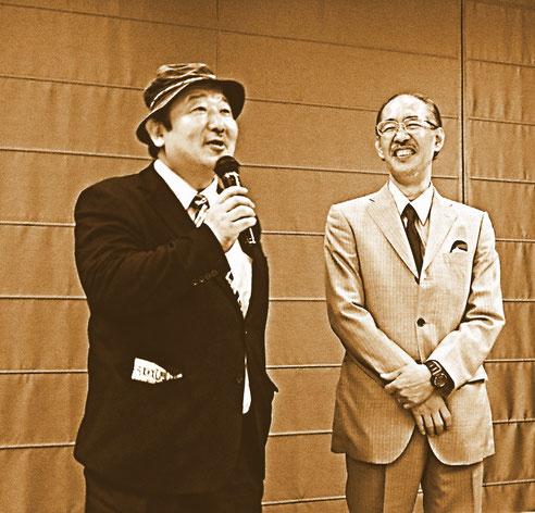 池田憲章(左)&聖咲奇