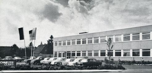 Das Firmengebäude in Harsewinkel