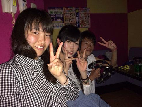 はーい!ピース(*^^*)