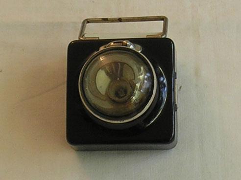 Taschenlampe der Reichsbahn  Fertigungsjahr ca. 1938