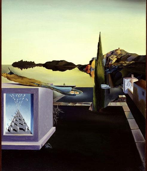 Порт-Льигат в картинах Сальвадора Дали. Сюрреалистические объекты  - измерители памяти