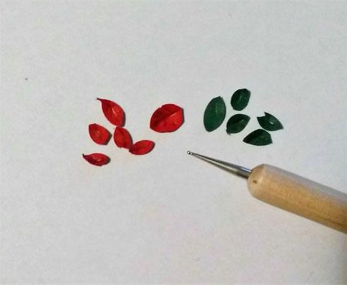Miniatur-Weihnachtsstern Anleitung