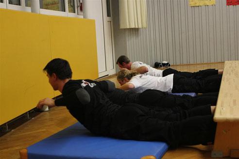Kampfsport - Kickboxen - Trainingsplan