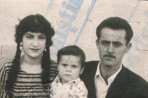 Müzeyyen, Muzaffer und Mehmet Bali   1964 -  türkischer Pass