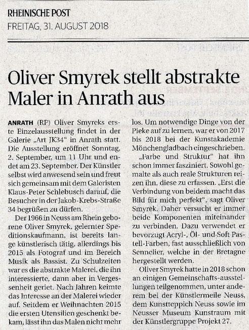 Rheinische Post 31.08.2018