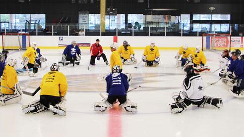 Reto Schurch Ice Hockey Goalie Camp Los Angeles at The Rinks