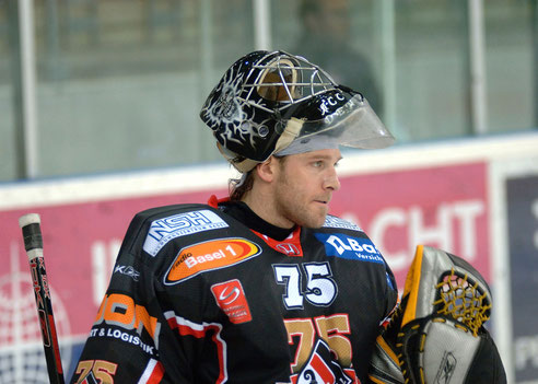 Reto Schurch Ice Hockey Goalie EHC Basel NLA