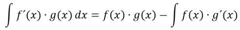 Allgemeine Formel zur Berechnung der partiellen Integration