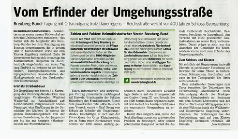 Main Echo vom 21.5.2013