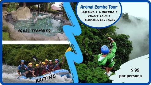 Arenal Combo Tour