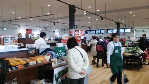 奈良県葛城の道店内