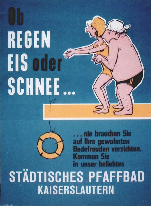 Verein für Baukultur und Stadtgestaltung Kaiserslautern e. V.  - Pfaffbad Plakat