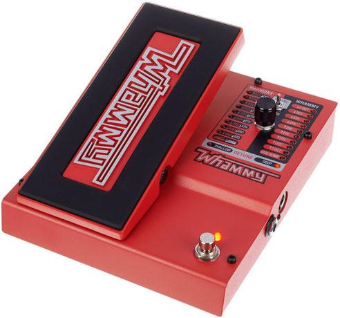 Este pedal aunque pensado para guitarra es una gran ayuda para el theremin