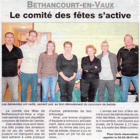Article et photo : l'Aisne Nouvelle.