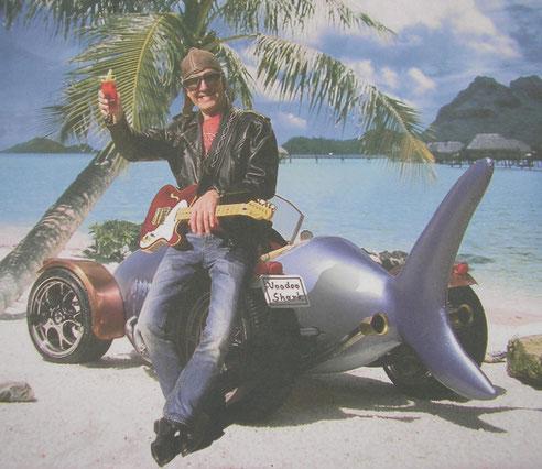 """Das Auto, das es nur einmal auf der Welt gibt und von mir erfunden wurde, passend zum  Song """"Hai-Freudentanz"""""""