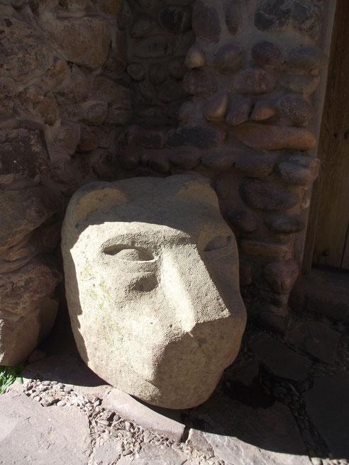 puma Cusco Peru stonework