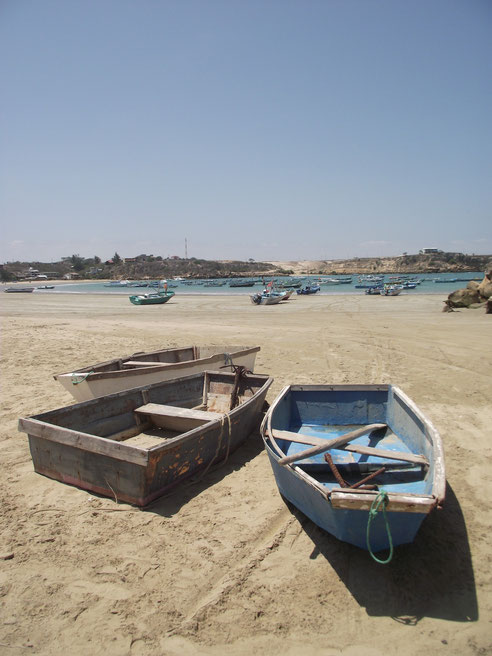 fishing boats Ayangue