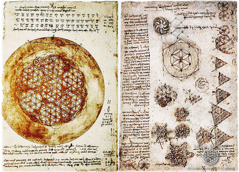 レオナルドダヴィンチのアトランティコ手稿1478年-1518年