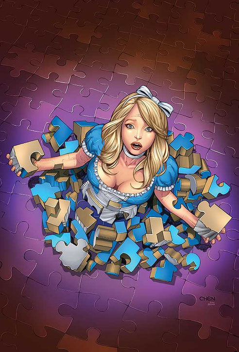 Алиса, художник Sean Chen
