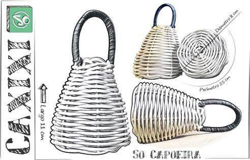 Instrumento Caxixi So Capoeira
