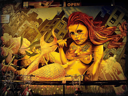 Strandgraffiti