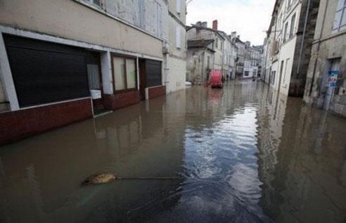 Chalais se souvient de la dernière crue qui a eu lieu en avril 2012
