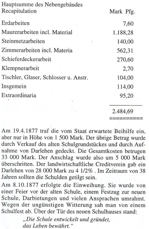Bild: Teichler Wünschendorf Erzgebirge Göckeritz Schule