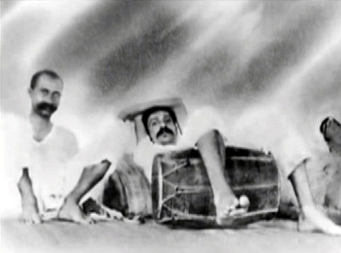 India - Meher Baba with Gustadji